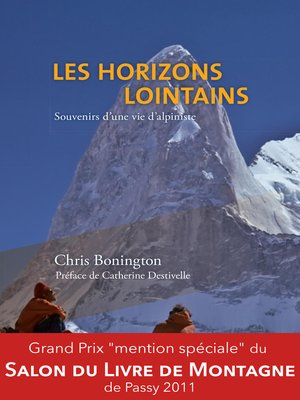 cover image of Les horizons lointains--Souvenirs d'une vie d'alpiniste