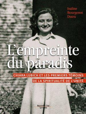 cover image of L'empreinte du paradis