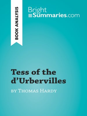 cover image of Tess of the d'Urbervilles by Thomas Hardy (Book Analysis)