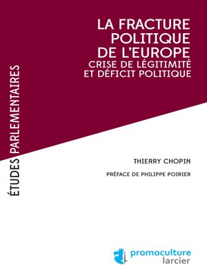cover image of La fracture poliltique de l'Europe