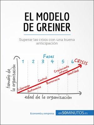 cover image of El modelo de Greiner