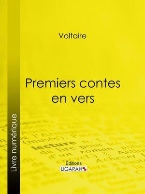 cover image of Premiers contes en vers