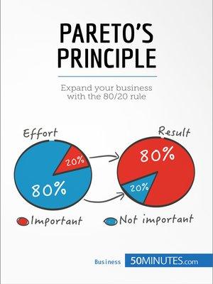 cover image of Pareto's Principle