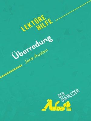 cover image of Überredung von Jane Austen (Lektürehilfe)