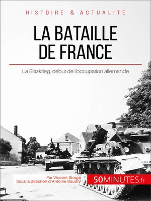 cover image of La bataille de France