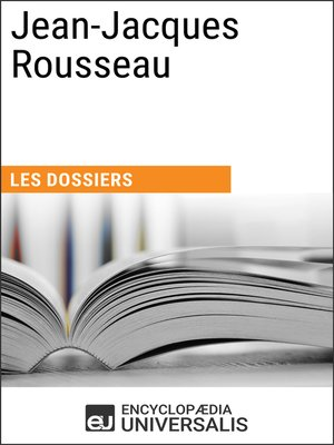 cover image of Jean-Jacques Rousseau