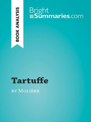 cover image of Tartuffe by Molière (Book Analysis)