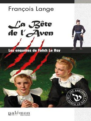 cover image of La bête de l'Aven