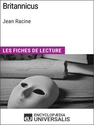 cover image of Britannicus de Jean Racine