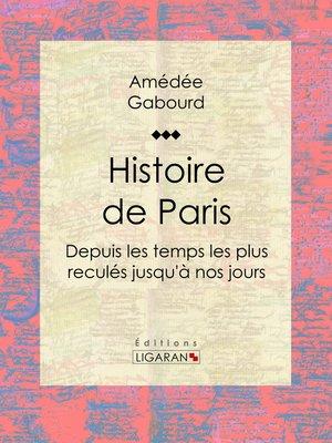 cover image of Histoire de Paris