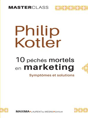 cover image of 10 péchés mortels en marketing