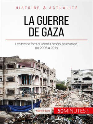 cover image of La guerre de Gaza