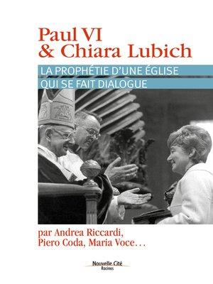 cover image of Paul VI et Chiara Lubich
