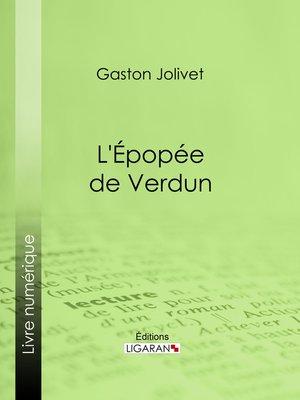 cover image of L'Épopée de Verdun
