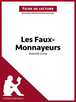 cover image of Les Faux-Monnayeurs de Gide (Fiche de lecture)