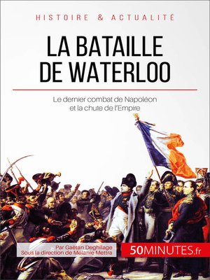 cover image of La bataille de Waterloo