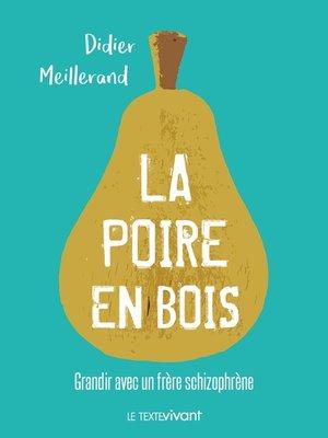 cover image of La poire en bois