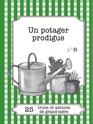 cover image of Un potager prodigue
