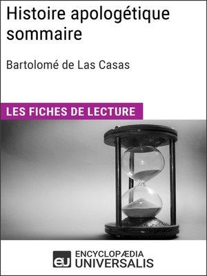cover image of Histoire apologétique sommaire de Bartolomé de Las Casas