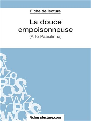cover image of La douce empoisonneuse