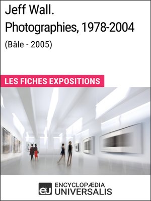 cover image of Jeff Wall. Photographies 1978-2004 (Bâle--2005)