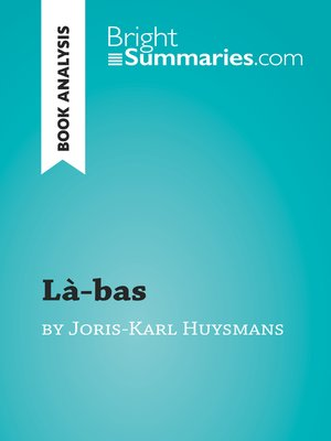 cover image of Là-bas by Joris-Karl Huysmans (Book Analysis)