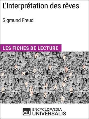 cover image of L'Interprétation des rêves de Sigmund Freud