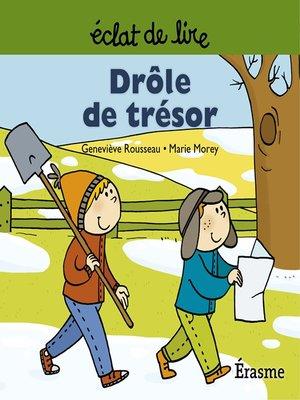 cover image of Drôle de trésor