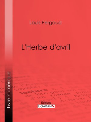 cover image of L'Herbe d'avril