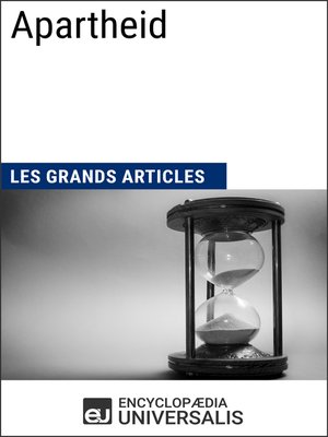 cover image of Apartheid (Les Grands Articles d'Universalis)