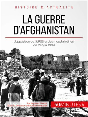 cover image of La guerre d'Afghanistan