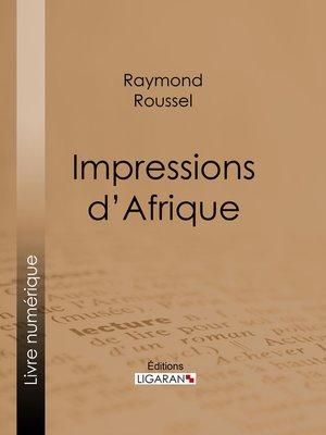 cover image of Impressions d'Afrique