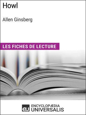 cover image of Howl d'Allen Ginsberg