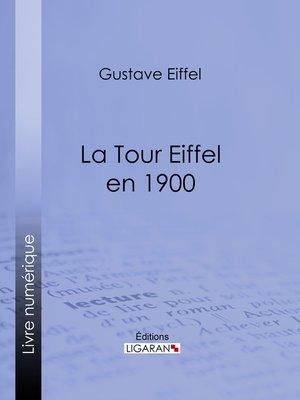 cover image of La tour Eiffel en 1900