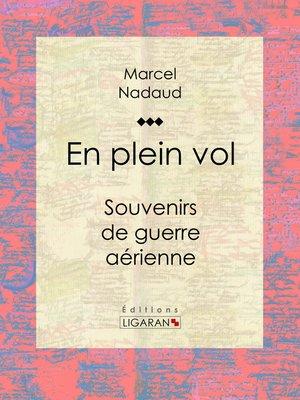 cover image of En plein vol