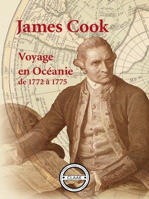 cover image of Voyage en Océanie de 1772 à 1775