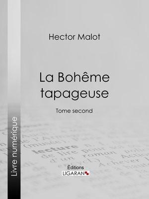 cover image of La Bohême tapageuse