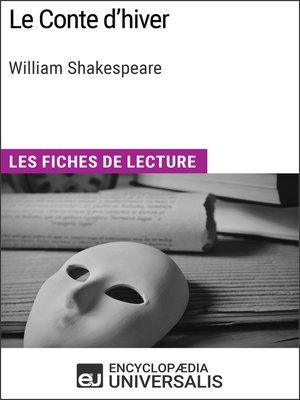 cover image of Le Conte d'hiver de William Shakespeare