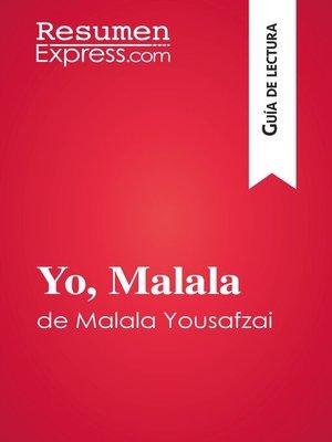 cover image of Yo, Malala de Malala Yousafzai (Guía de lectura)