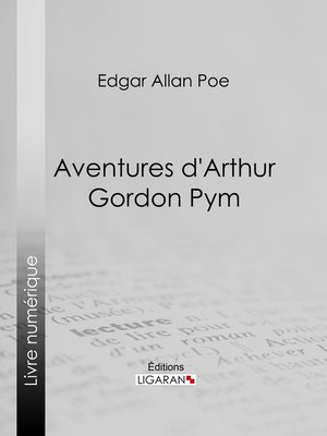 cover image of Aventures d'Arthur Gordon Pym