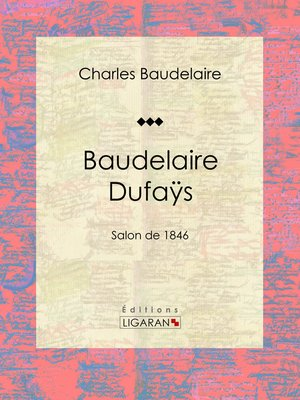 cover image of Baudelaire Dufaÿs