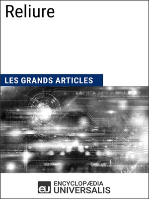 cover image of Reliure