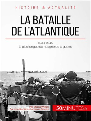 cover image of La bataille de l'Atlantique