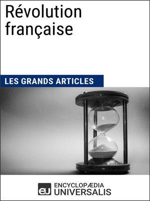 cover image of Révolution française