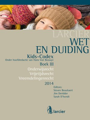 cover image of Wet & Duiding Kids-Codex Boek III