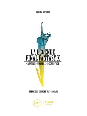 cover image of La Légende Final Fantasy X