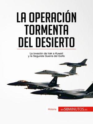 cover image of La Operación Tormenta del Desierto