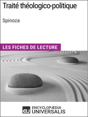 cover image of Traité théologico-politique de Spinoza