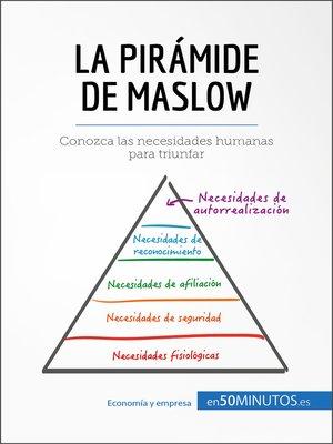 cover image of La pirámide de Maslow