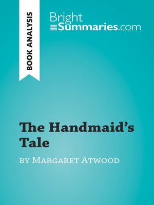 cover image of The Handmaid's Tale by Margaret Atwood (Book Analysis)